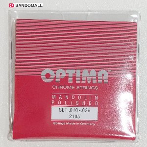 만도린스트링 Optima Mandolin string 2105 Loop end